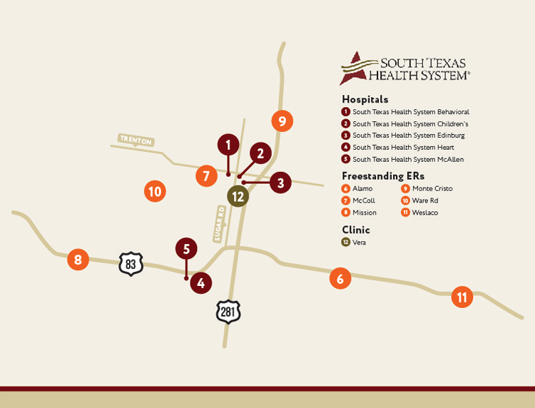 South Texas Health System Locations