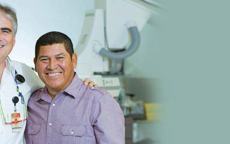 Luis Padula, MD, y Rafael Chacon